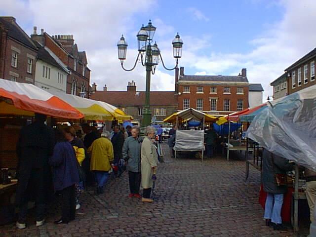 Market at Leek