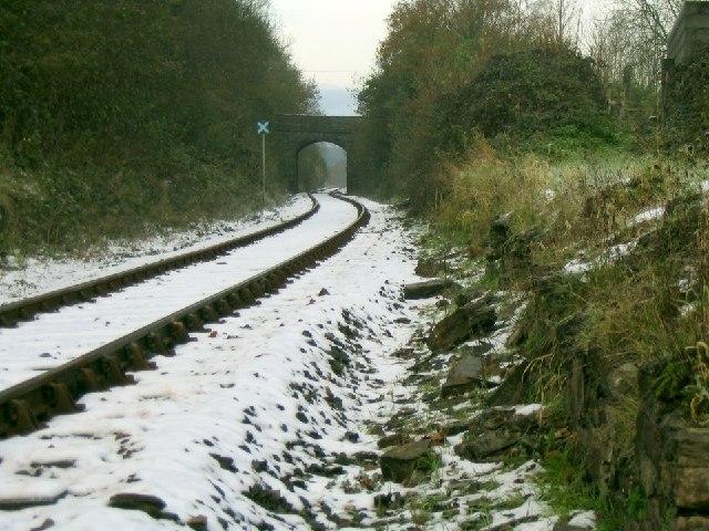 Former railway station at Derwydd near Llandybie