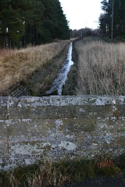 Culvert near Gladhouse reservoir