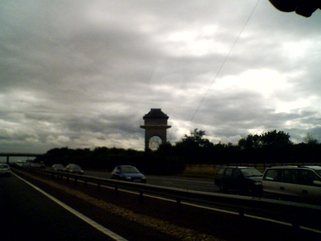 Water tower M40 near Bucknell