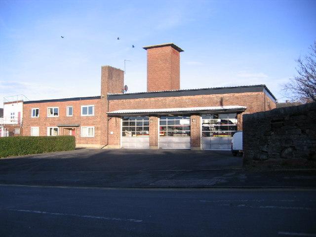 Workington Fire Station.