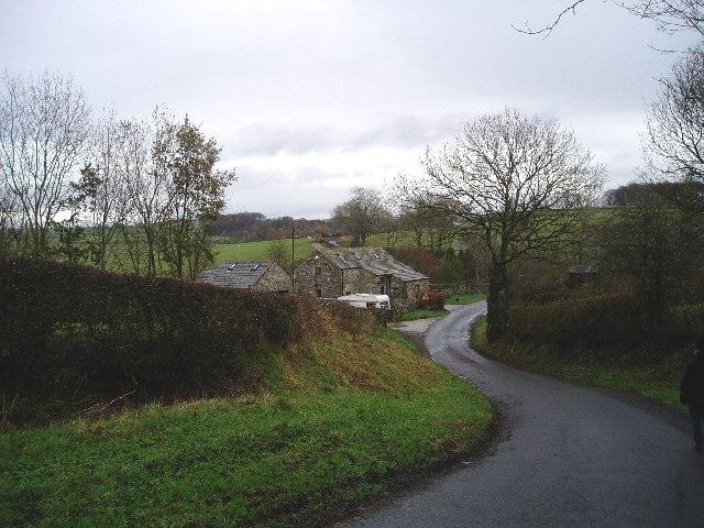 Towards Slaidburn at 700528