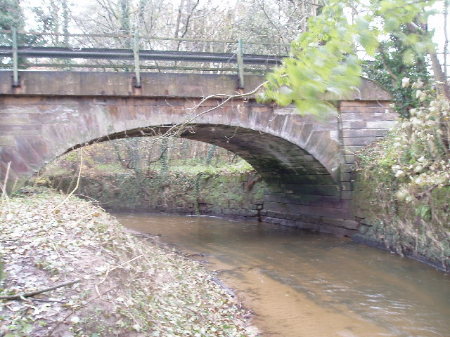The Ashley road bridge over the Birkin Brook