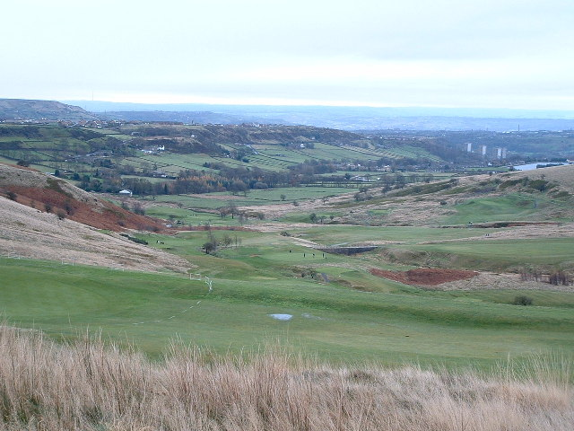 Across Halifax Golf Course