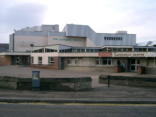 The Lochgelly Centre.