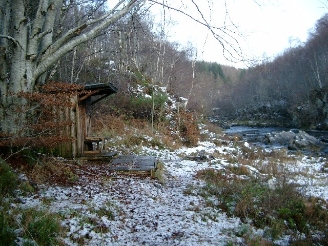 Fishermen's hut by the Black Water, Contin