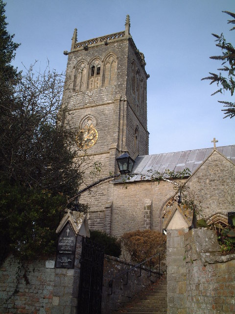 St Michael's Church in Brent Knoll