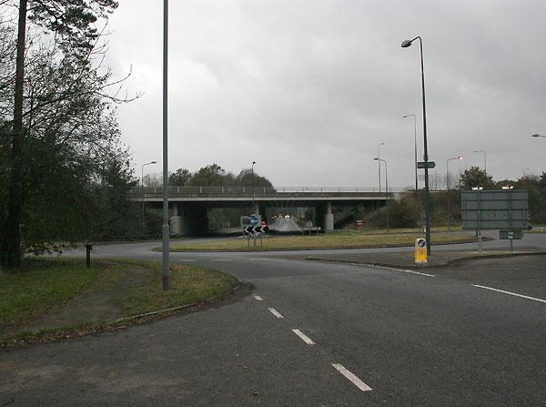 The A23 flyover