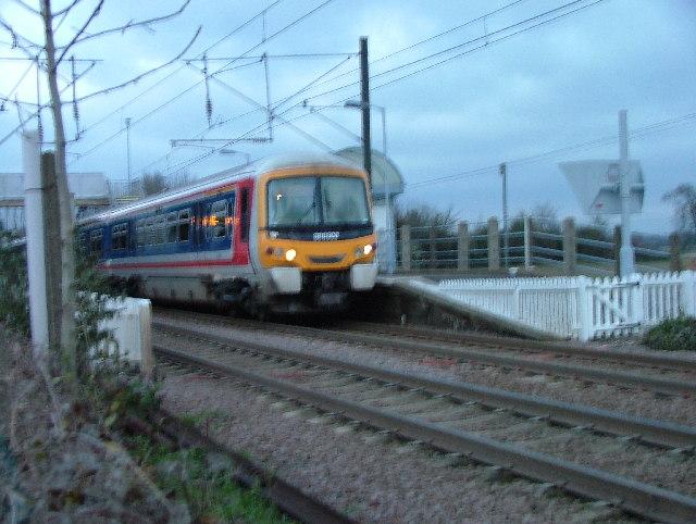 Melbourn Station.
