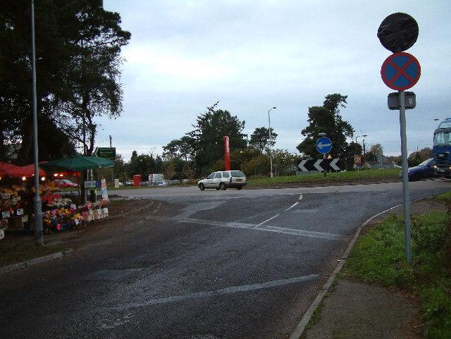 A31 roundabout, St. Leonards, Dorset