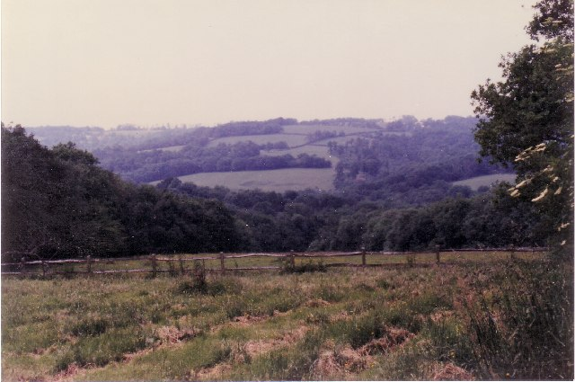 View from Little Poundsford Farm
