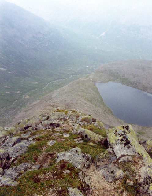 Lochan Uaine from Sgor an Lochan Uaine (Angels Peak) Cairngorms