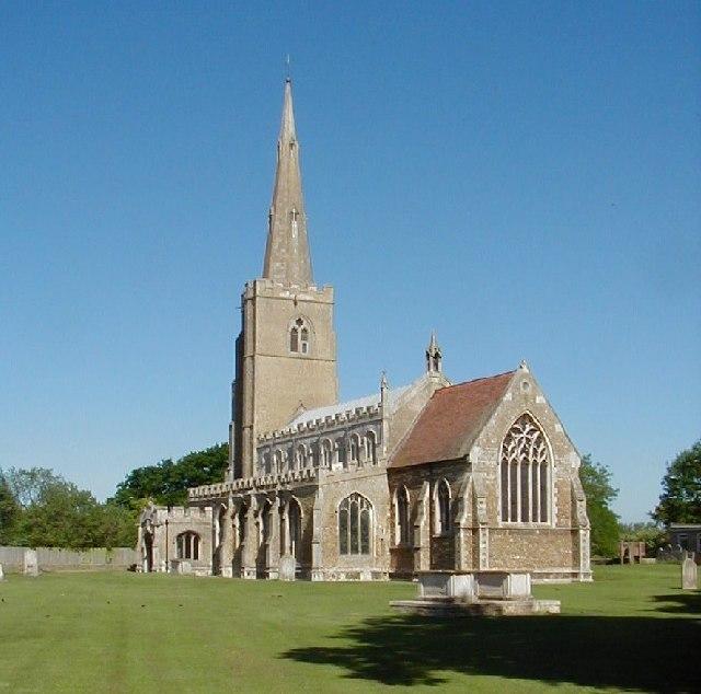 St Wendreda's Church, March