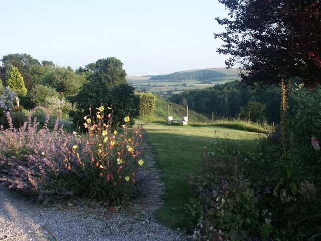Country garden, Shaftesbury