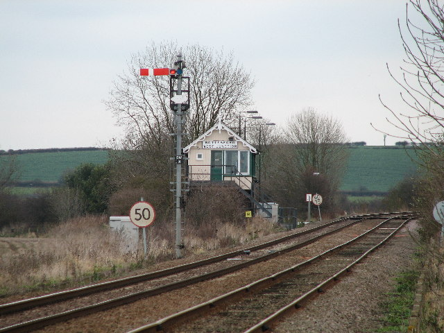 Bottesford West Junction Signal Box.