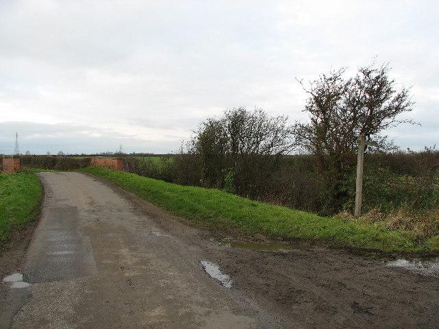 Footpath Towards Kilvington