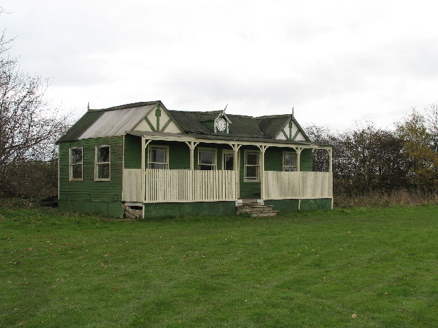 Orston Cricket Pavilion.