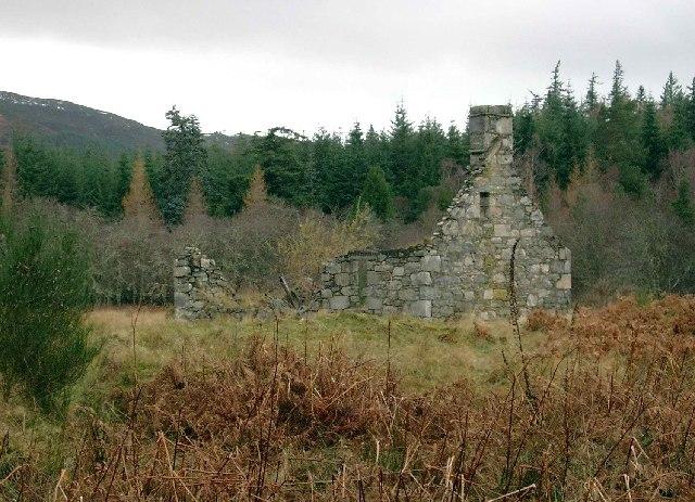 Ruin near Stronachroe