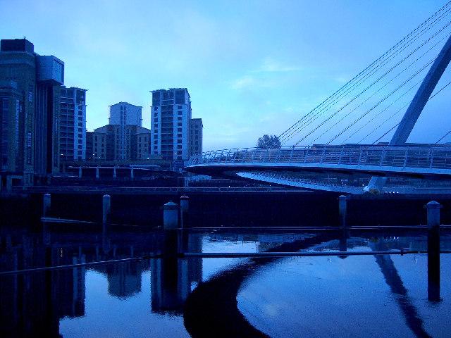 Millennium Bridge + Baltic