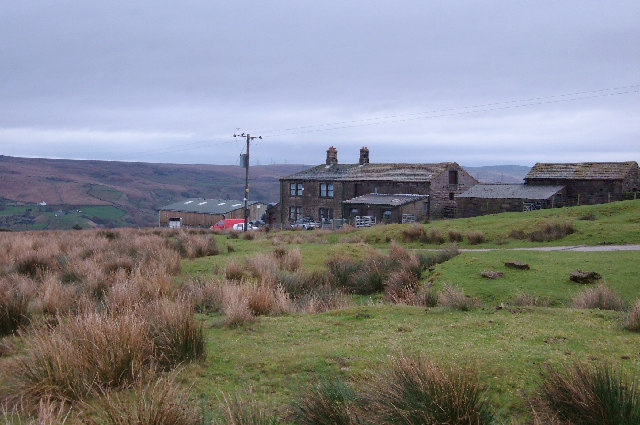 Hill Farm above Walsden