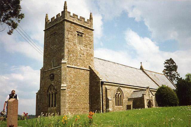 Cloford: church