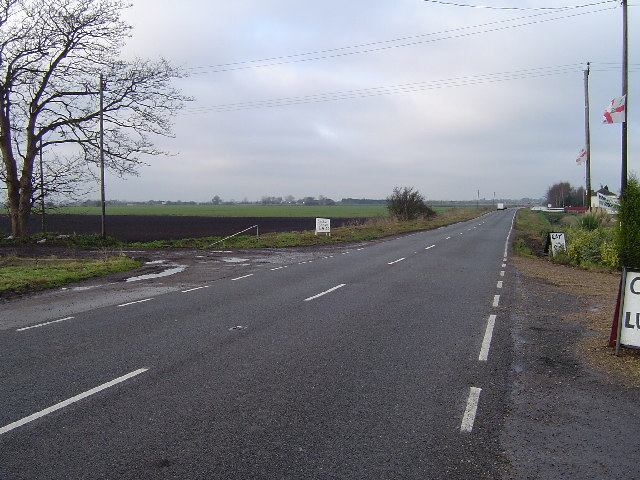 Milk and Water Drove, west of Pondersbridge