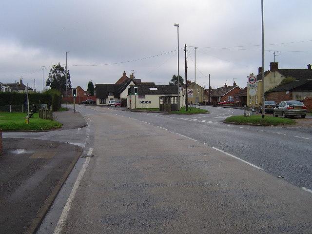 Eastrea Road (A605), Eastrea