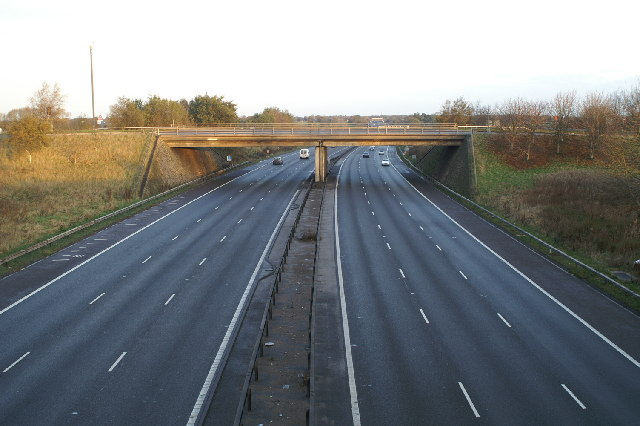 M6 Junction 18, A54
