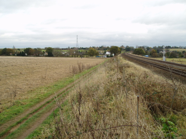 Mainline railway, near Kidderminster