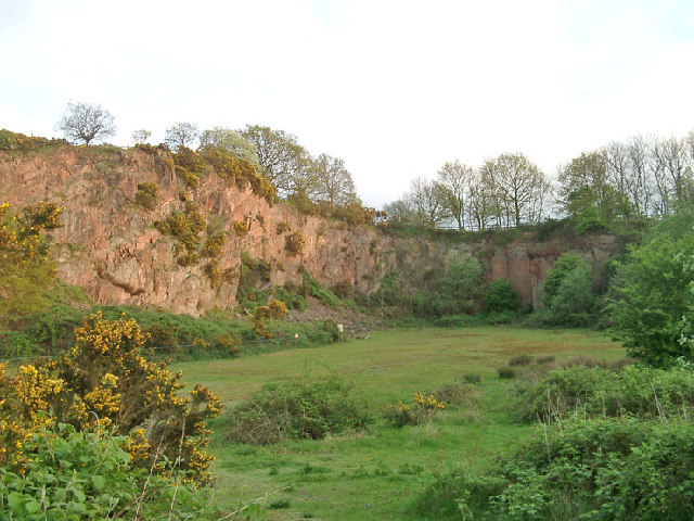 Morley Quarry, Shepshed, looking south