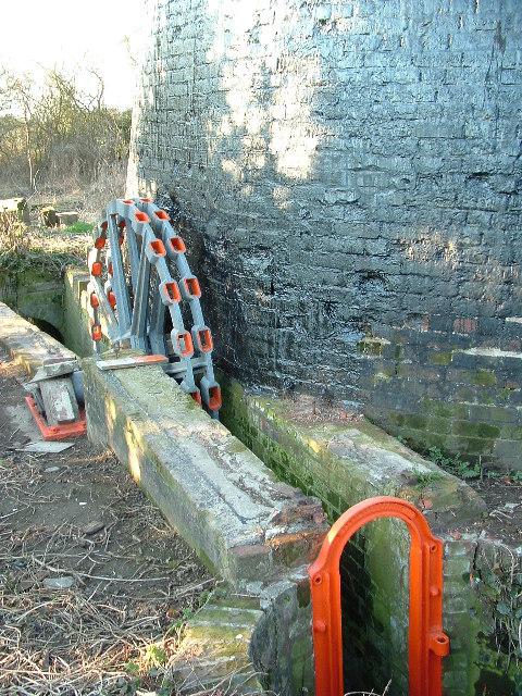 Polkey's Mill scoopwheel hub