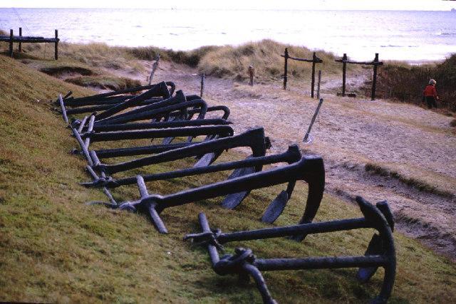 Anchors at Rockend.