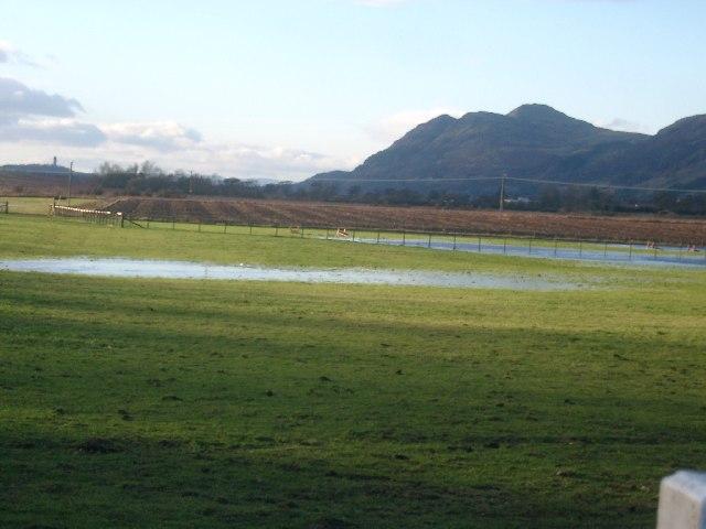 Fields near Glenfoot