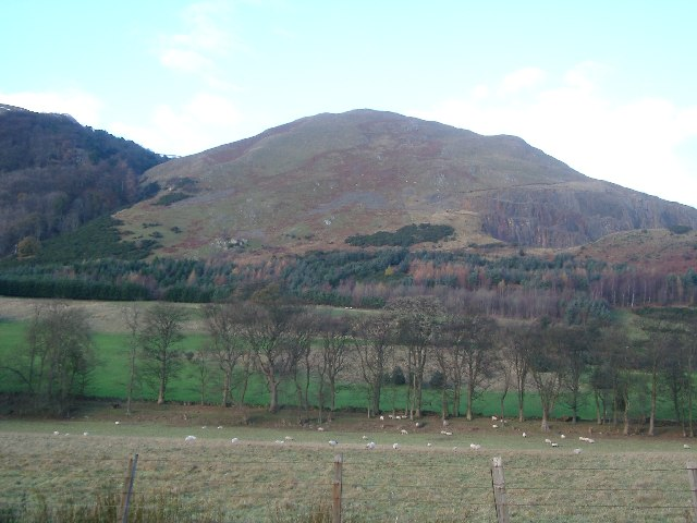 Nameless hill between Wood Hill and Mill Glen, Tillicoultry