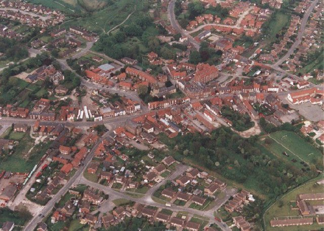 Market Weighton - A Bird's Eye View