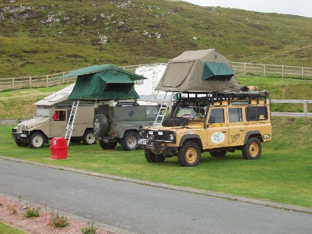 Campsite at Clickimin, Lerwick