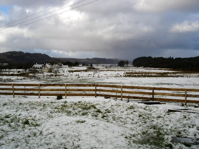 Wintery conditions in Londubh