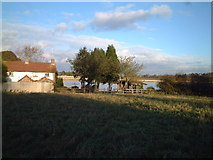 ST5367 : Barrow Reservoir by Adrian and Janet Quantock