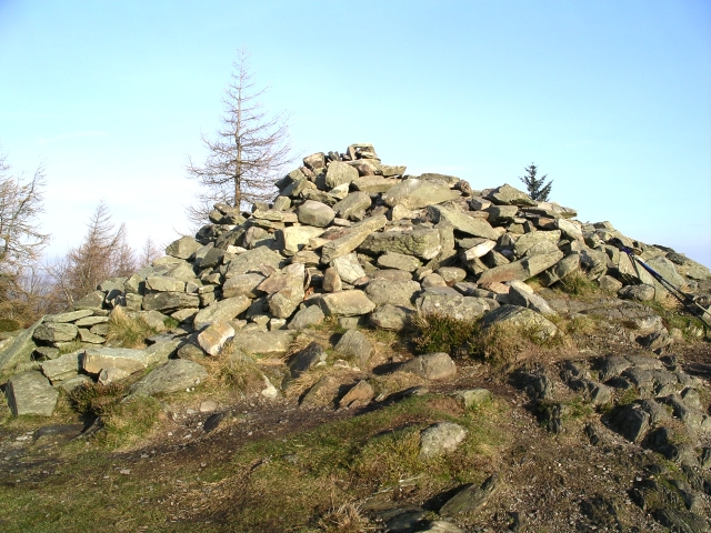 Summit, Birnam Hill