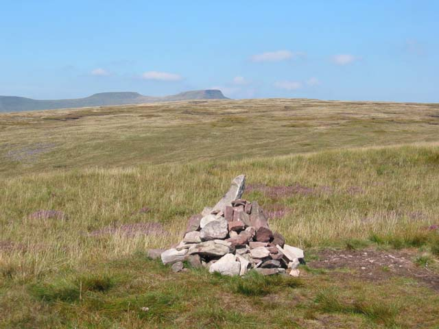 Cairn on Craig y Fan Ddu