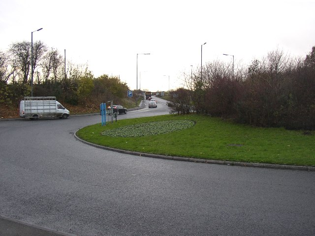 Drighlington Bypass, west of the A58