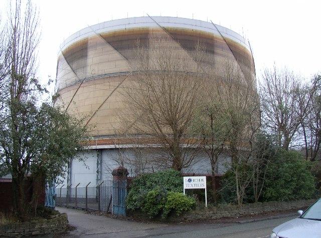 Gasometer, Whitechapel Road, Cleckheaton