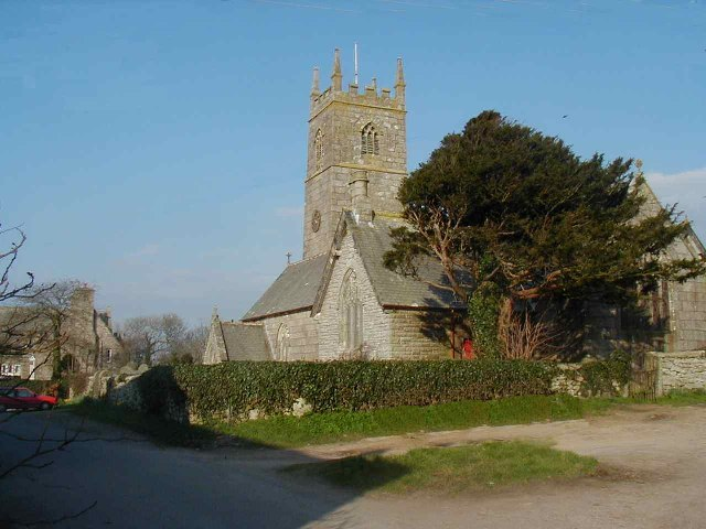 The Church at Crowan