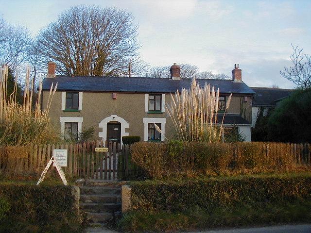 Elm Farm near Redruth