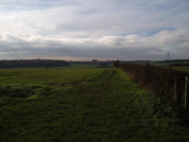 View towards Bromham