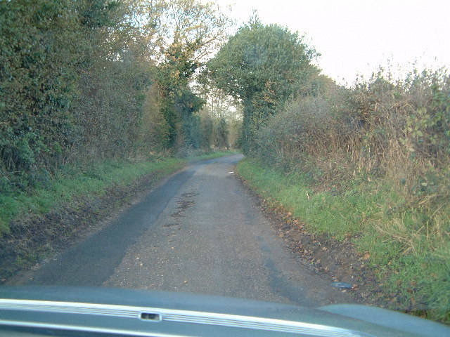 Country lane near Bednall