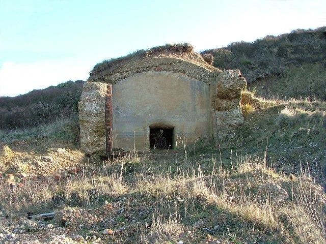Unidentified building. Fort Albert