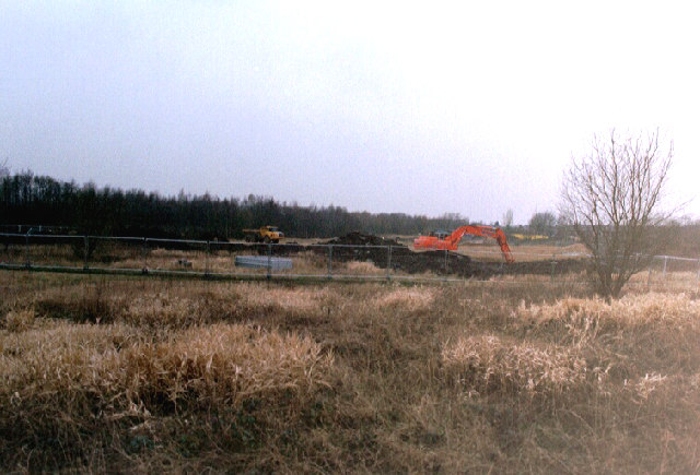 Groundwork on the Clinic site