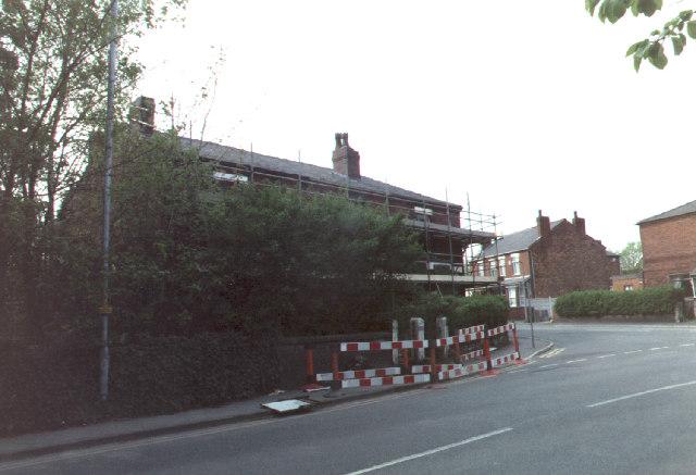 Preparing 226-230 Warrington Road for demolition