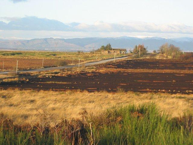 Peat workings, Gardrum Moss.